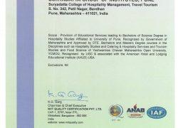 11. ANAB - IAF Certificate