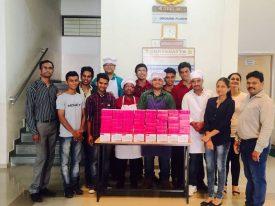CSR Laddoo making for Orphanag Diwali